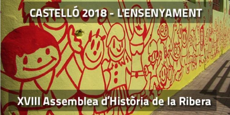 Castelló acollirà la XVIII Assemblea d'Història de la Ribera