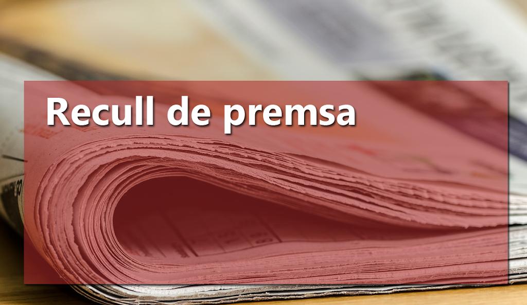 Recull d'articles de premsa relacionats en la XVIII Assemblea d'Història de la Ribera