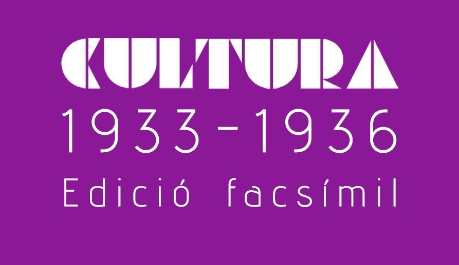 Coberta de l'edició facsímil de Cultura